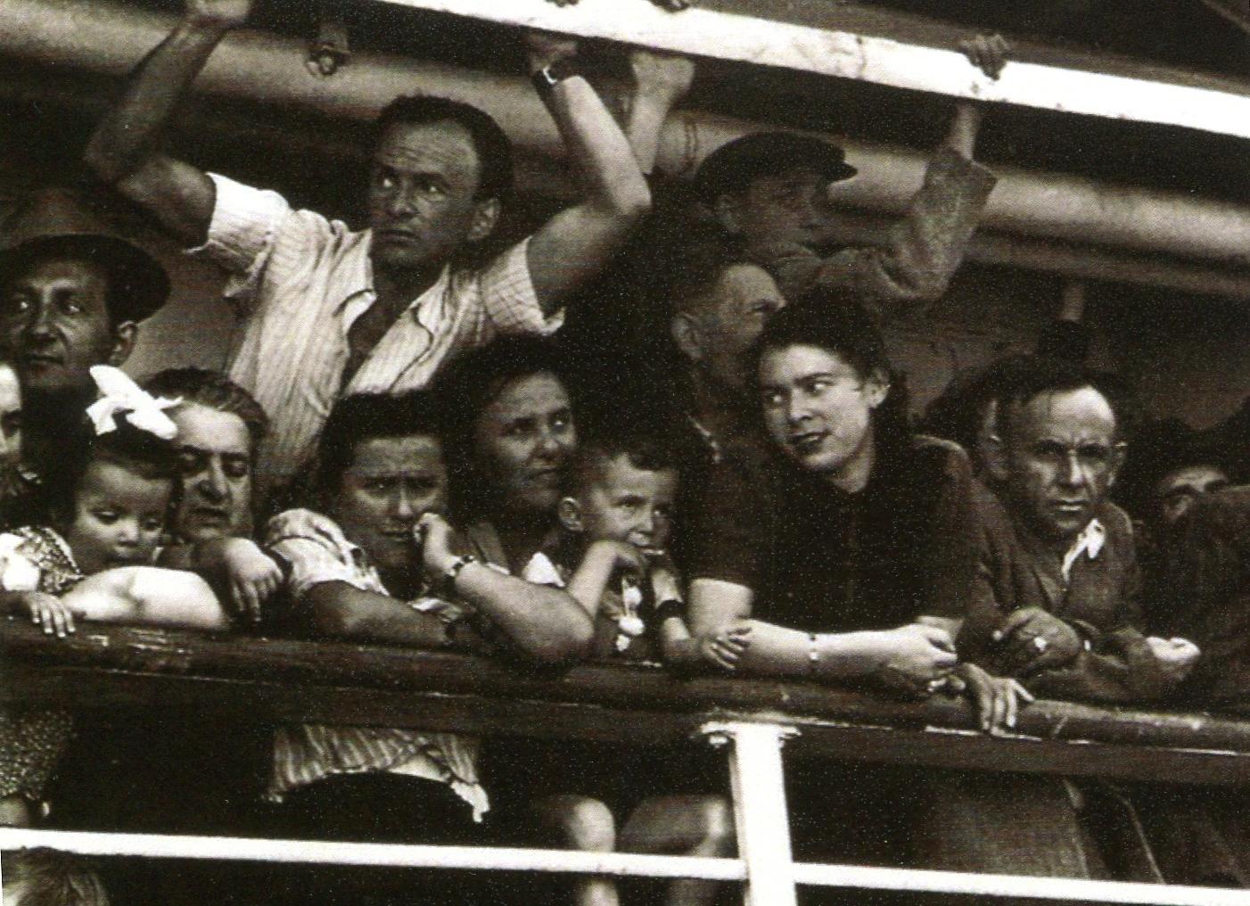 1949 - Emigrazione ebraica in Palestina