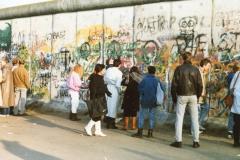 Muro di Berlino 1990
