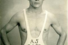 Vito Paparella (Campione nazionale di Lotta greco-romana) - Società Ginnastica Angiulli - Bari 1940